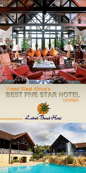 Ghana Labadi Beach Hotel 300x600