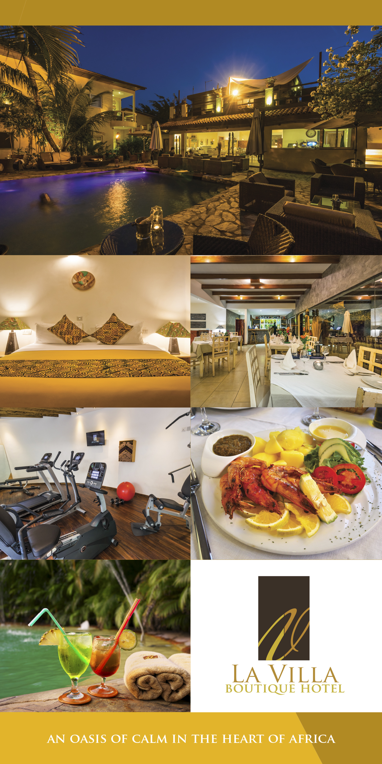 Ghana La Villa Boutique Hotel Banner 300x600