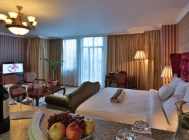 Spacious luxury rooms for long-staying visitors to Addis