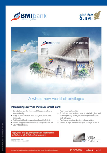 BMI Visa Card