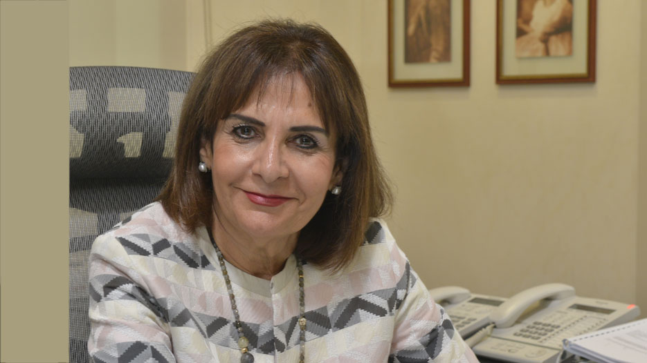 Mona Almoayyed, Managing Director of Y K Almoayyed and Sons