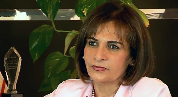 Mona Almoayyed, Managing Director of Y.K. Almoayyed & Sons