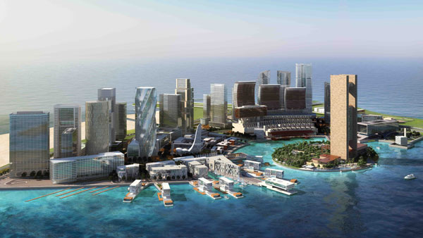 Bahrain Bay Masterplan