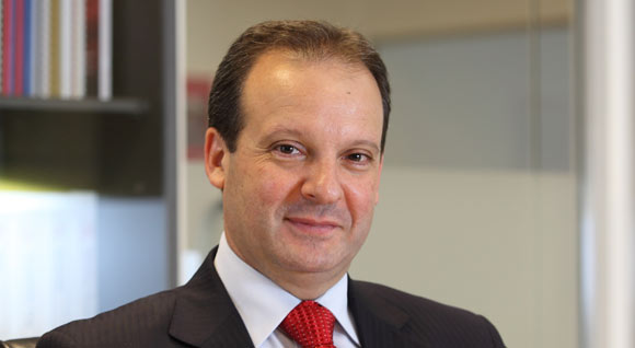 Peter Kaliaropoulos, CEO of Bahrain Telecommunications Company (Batelco)