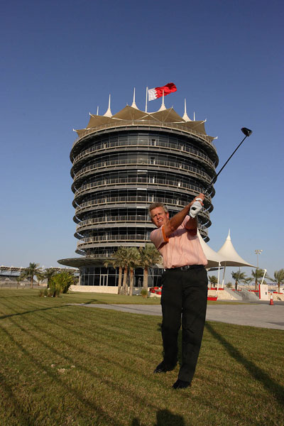 Bahrain International Circuit Golfing