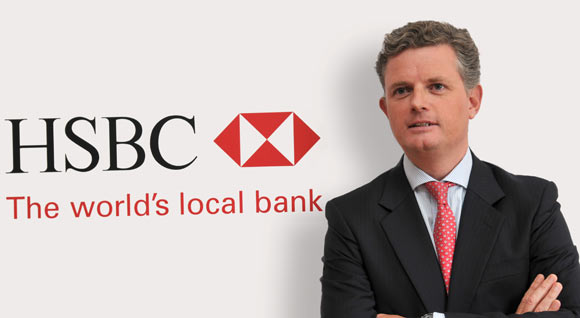 Patrick Gallagher, Chief Executive Officer of HSBC Bahrain
