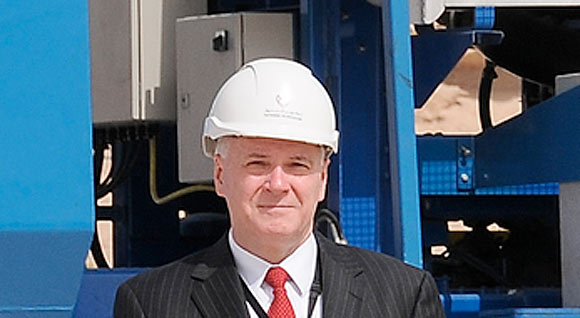 Dr. Ed Hanley Chief Executive Tatweer Petroleum