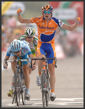 Rabobank on the Tour de France