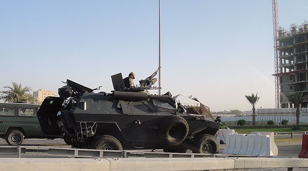 Saudi Troops Bahrain