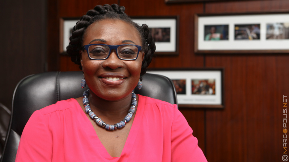Mawuena Trebarh, CEO of GIPC (Ghana Investment Promotion Centre)