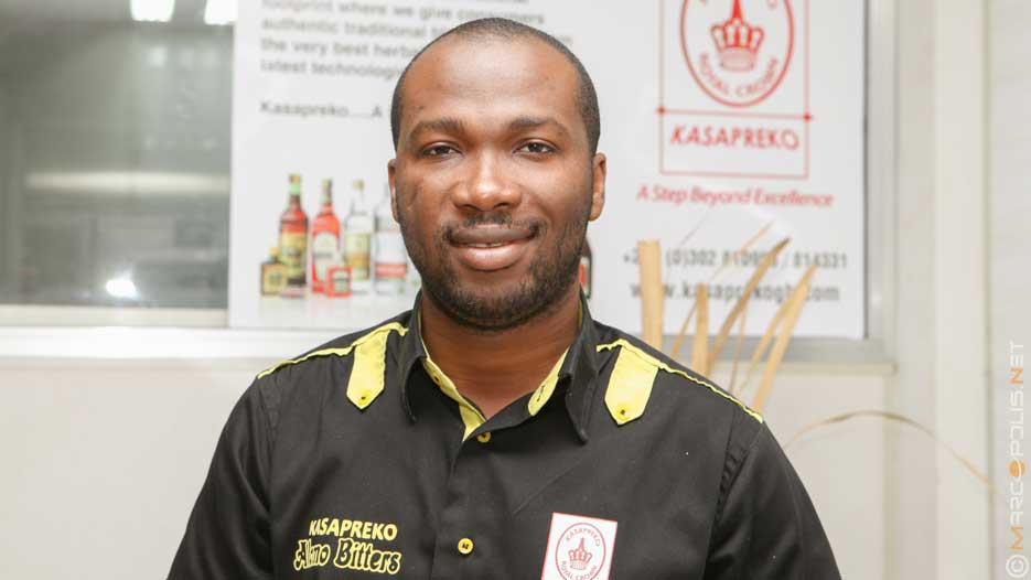 Richard Adjei, CEO of Kasapreko