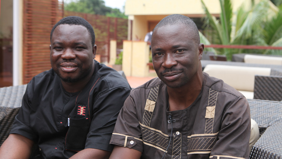 Stephen Debre and Dennis Sedem Ehiakpor, Ghana Agribusiness Center