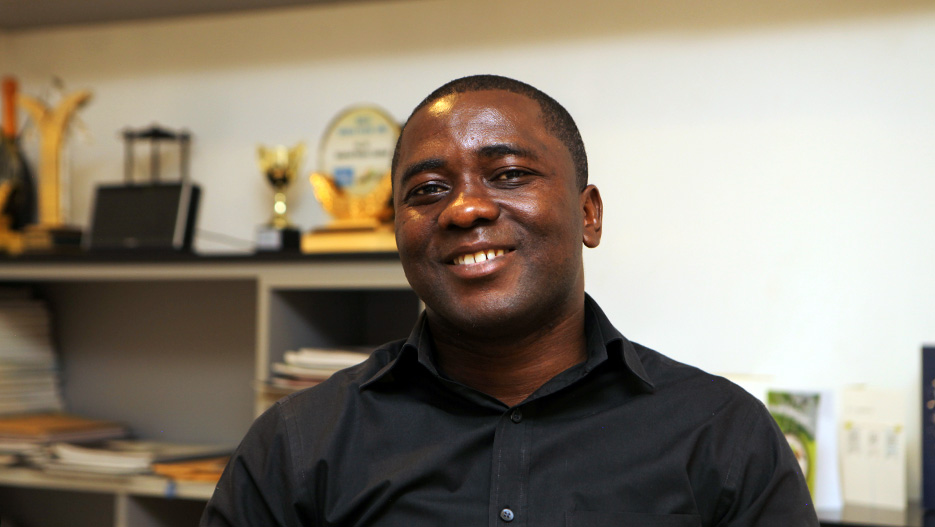 Frank Gyamfi-Yeboah, Executive Director of Imperial Homes