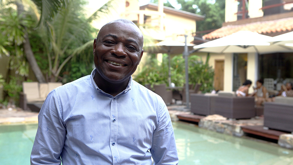 Leeford Quarshie, General Manager of La Villa Boutique Hotel