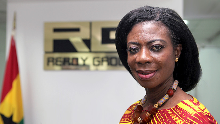 Madame Kate Quartey-Papafio, Founder and CEO of Reroy Cables (Reroy Group)