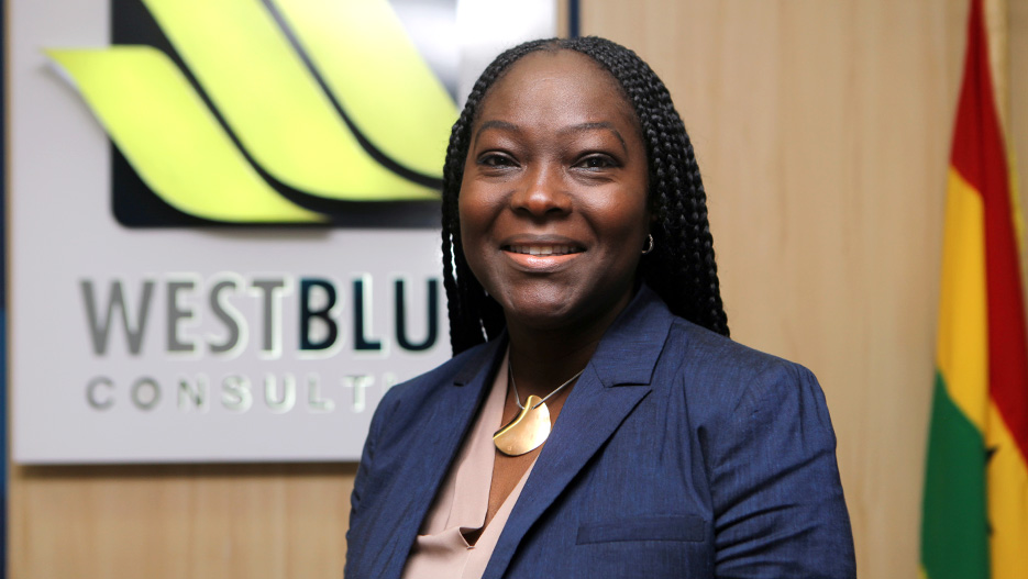Valentina Sowu Mintah, CEO of Westblue Consulting