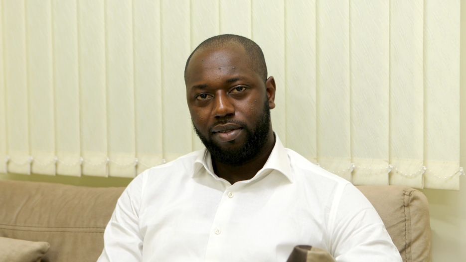 Kofi Frimpong, Sales and Marketing Manager of Wilkins Engineering