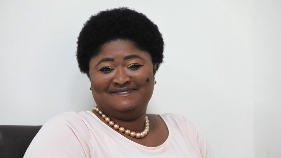 Gifty Klenam, CEO of GEPA (Ghana Export Promotion Authority)