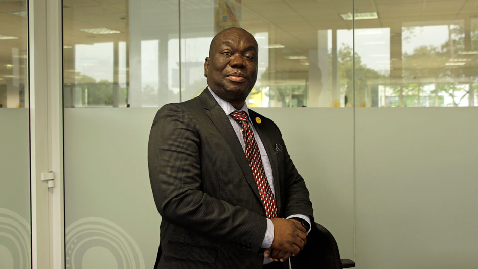 Samuel Addo, General Manager for MTN Business