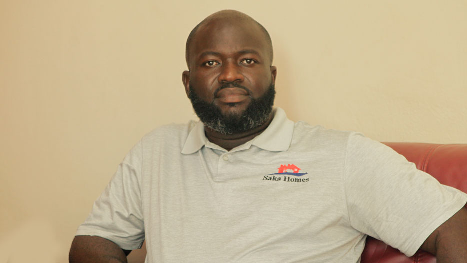 Ebenezer Saka Addo-Mensah, CEO and Founder of Saka Homes