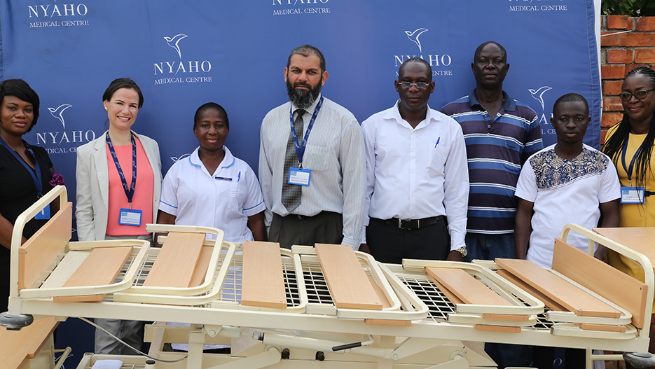 "Fighting ""No Bed"" Syndrome in Ghana's Hospitals - Nyaho Dove Foundation"