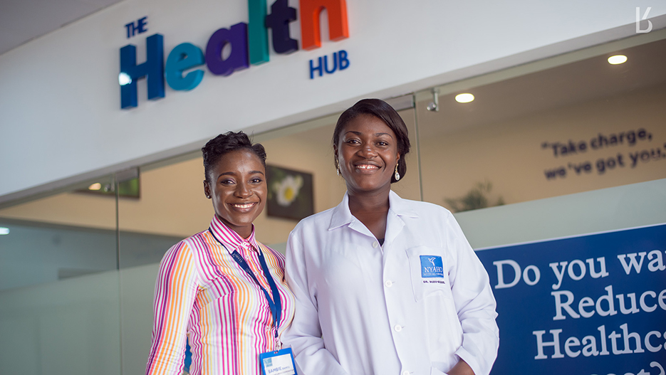 Preventive Healthcare in Ghana is now available at the Health Hub (Nyaho Medical Center)