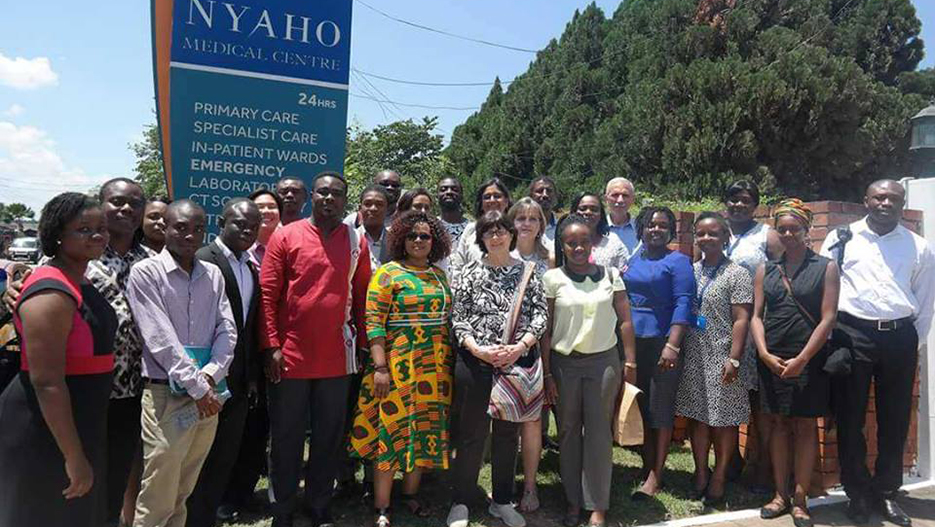 IHI visit at Nyaho Medical Centre