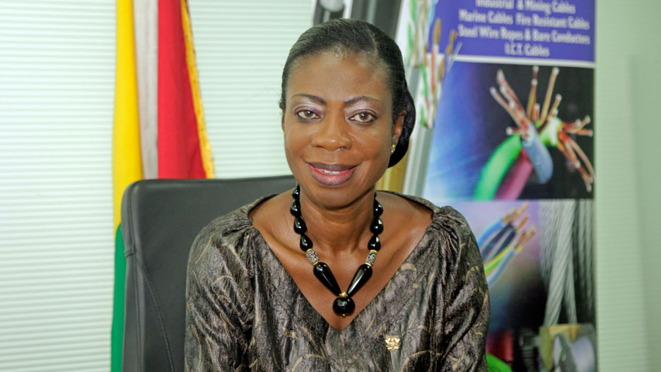 Kate Quartey-Papafio, Founder and CEO of Reroy Cables