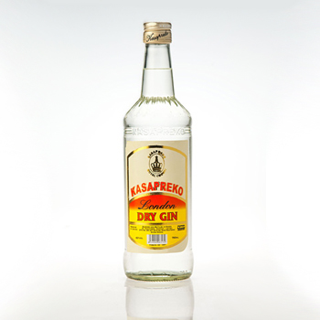 Kasapreko products: Dry Gin