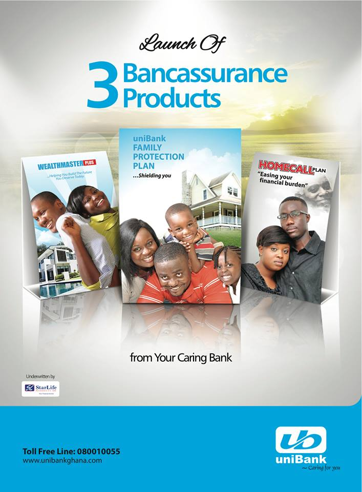 uniBank Ghana products
