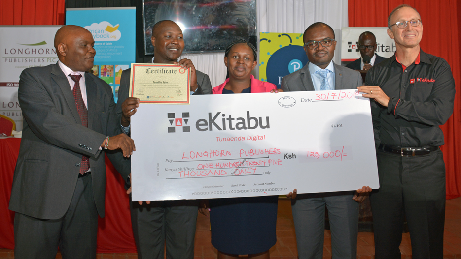 Kenya: Longhorn Publishers Rewarded at the eKitabu Content Development Challenge