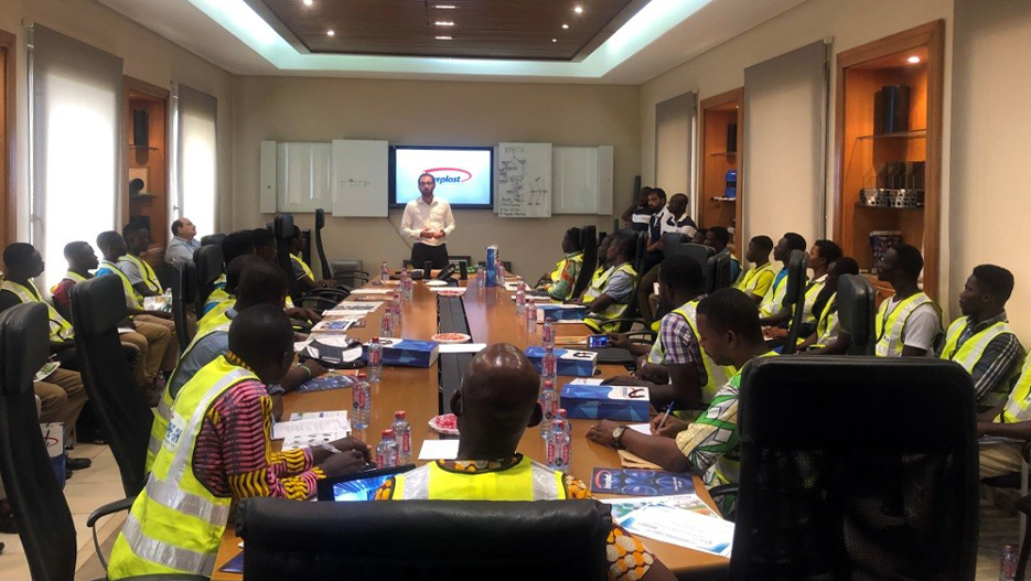 Interplast: Training Members of CIPHE Ghana on Best Installation Practices for HDPE and UPVC Pipes