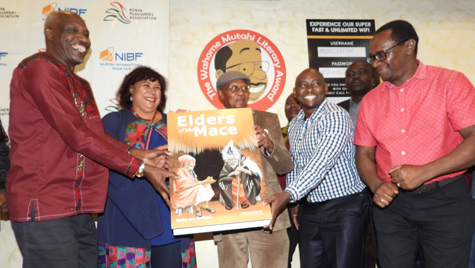 Jomo Kenyatta Prize for Literature: Longhorn Publishers' Elders of the Mace Wins a Best Book Award