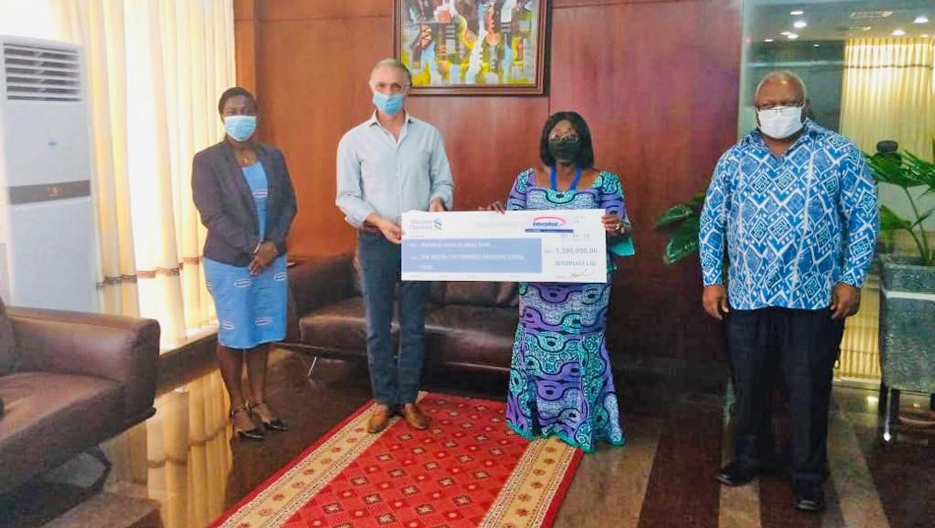 COVID-19: Interplast Supports the Government of Ghana to Help Fight the Pandemic