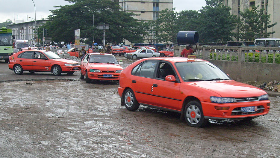Image result for different color taxis abidjan