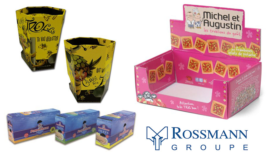 Shelf ready packaging solutions created by the Rossmann Group
