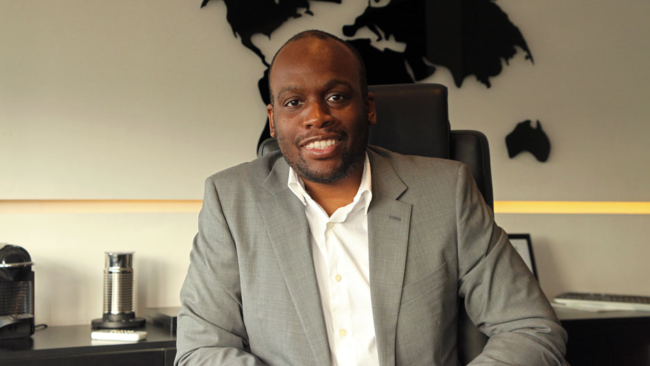 Vangsy Goma, Founder and CEO of Africab