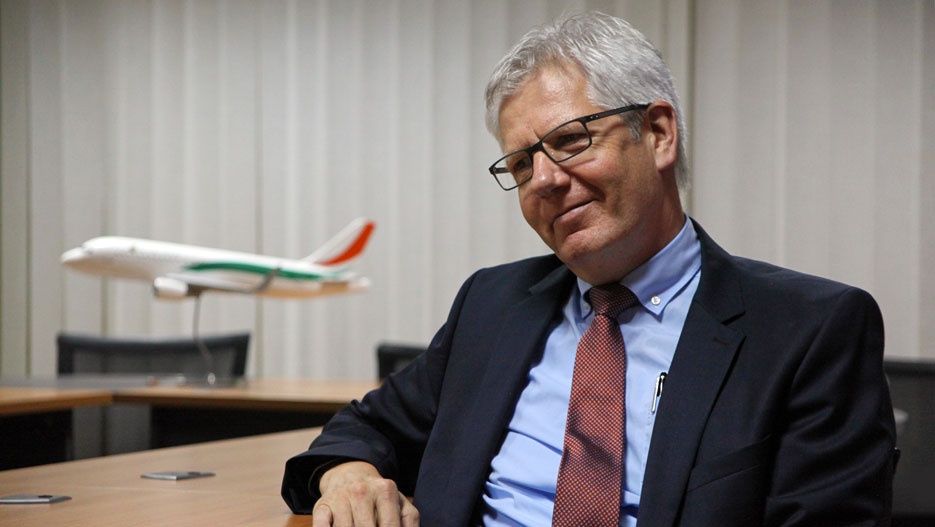 René Decurey, General Manager of Air Côte d'Ivoire