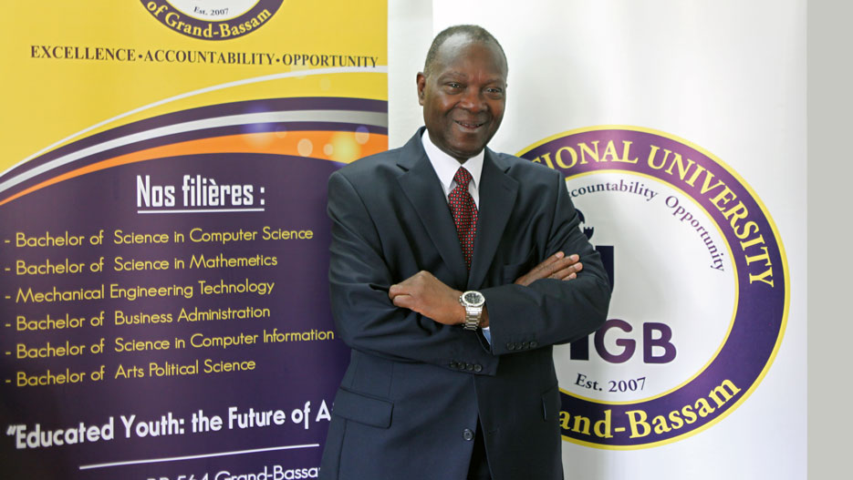 Professeur Saliou Touré, Président de IUGB (International University of Grand-Bassam)