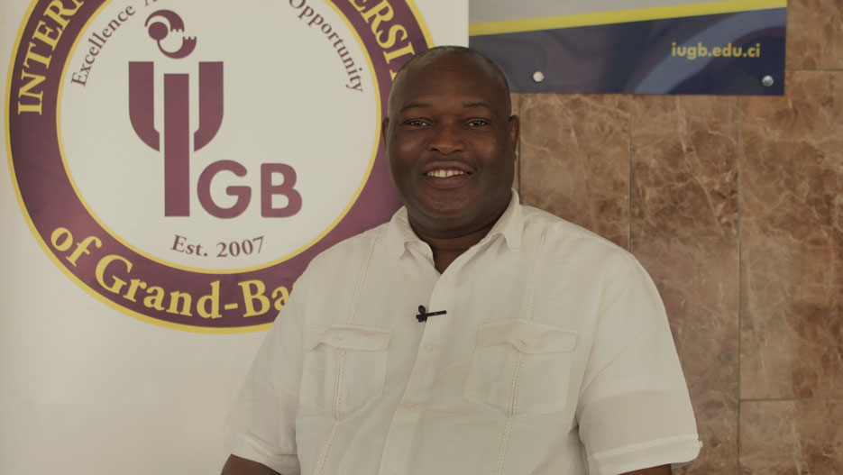 Samuel Koffi, Vice President and COO at IUGB (International University of Grand-Bassam)