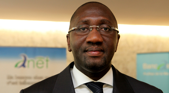 Souleymane Diarrassouba, President of APBEF-CI and Chief Executive Officer of Banque Atlantique Côte d'Ivoire