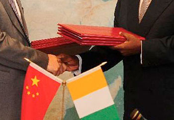 Relations of Cote d`Ivoire and China, foreign diplomatic relations