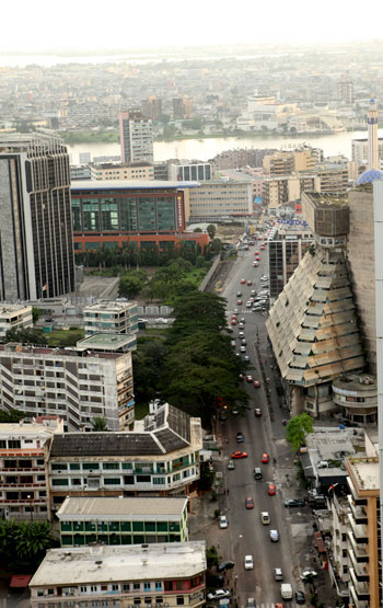 Abidjan during the day