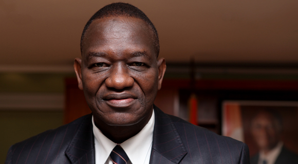 H.E. Gaoussou Toure, Minister of Transport in Ivory Coast