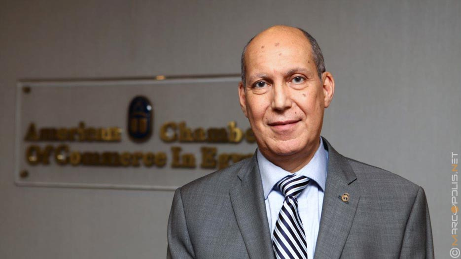 Hisham Fahmy, CEO of American Chamber of Commerce in Egypt