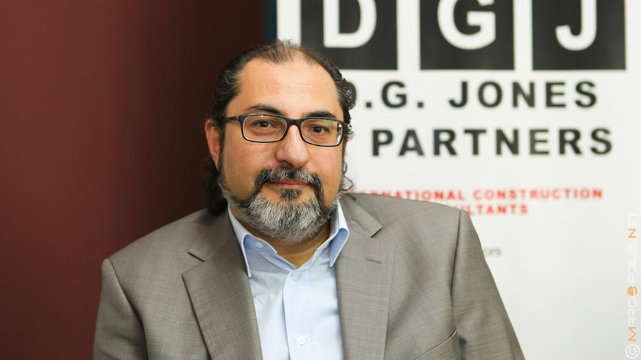 Mohammad Halabi, Managing Director of D.G. Jones and Partners (Egypt)
