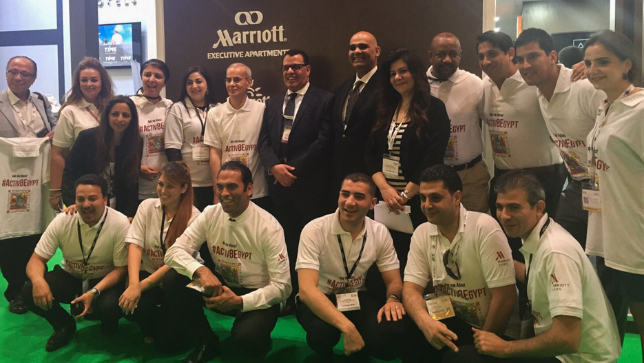 Marriott Global team with Egyptian Tourism Authority Chairman