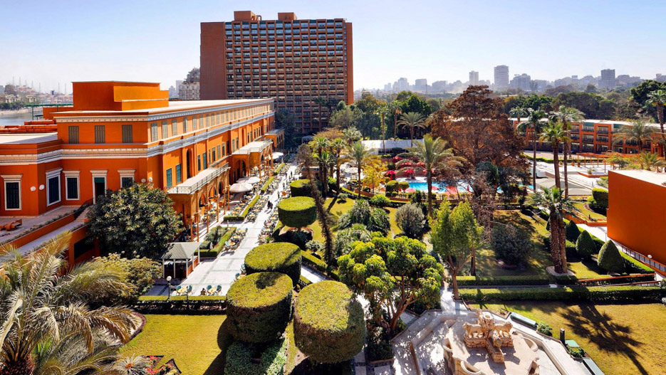 Cairo Marriott – the leading hotel in Cairo, tradition and elegance on the River Nile