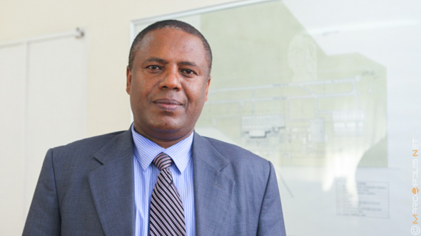 Colonel Wosenyelh Hunegnaw, Director General of Ethiopian Civil Aviation Authority