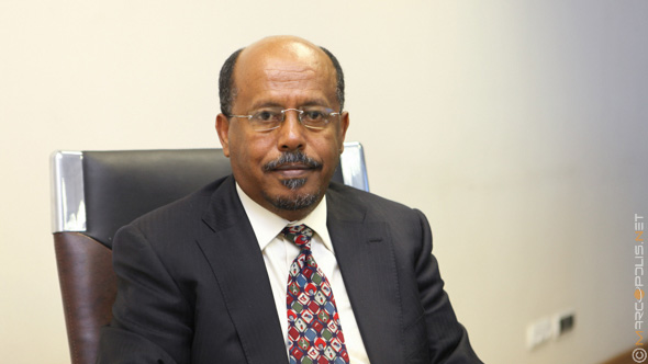 Haile Assegide, Executive Director of Derba Cement (Midroc Group)